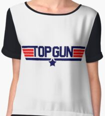 TOP GUN Chiffon Top