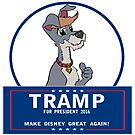 Tramp for President by Skree