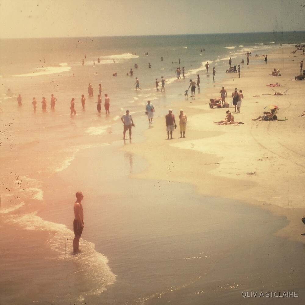 Summer Beach Day by Olivia Joy StClaire