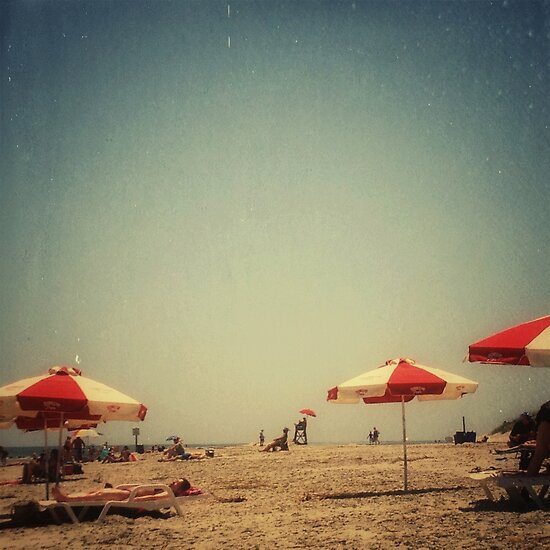 One Summer Day at the Beach by OLIVIA JOY STCLAIRE