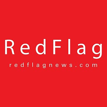 RedFlag Brand Sticker by redflagnews