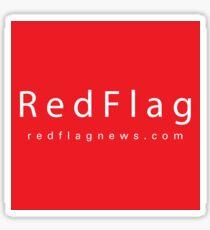 RedFlag Brand Sticker Sticker