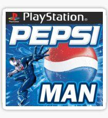 Pepsi Man Video Game Sticker