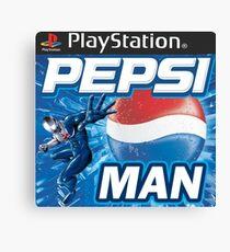 Pepsi Man Video Game Canvas Print