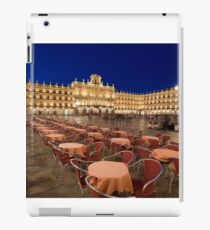 Mayor square, Salamanca iPad Case/Skin