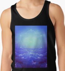All but the Brightest Star (Sirius Star Geometric) Tank Top