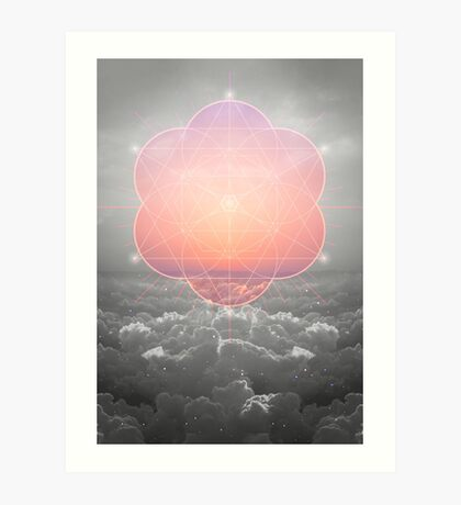 The Sun Is But A Morning Star Art Print
