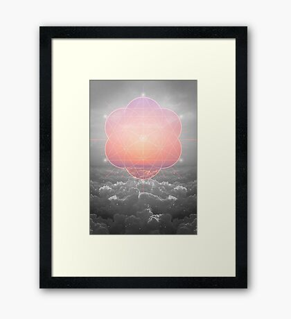 The Sun Is But A Morning Star Framed Print