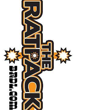 """BRDL """"The Rat Pack"""" Logo - Leggings by BRDL"""