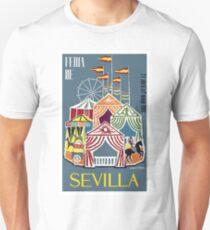 Spain 1960 Seville Festival Poster Unisex T-Shirt