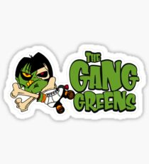 """BRDL """"The Gang Greens"""" Logo - Clothing, Stationery, Phone Cases & MORE! Sticker"""