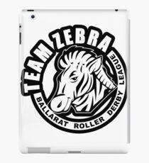 "BRDL ""Team Zebra"" Logo - Clothing, Phone Cases, Notebooks & MORE iPad Case/Skin"