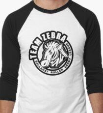 """BRDL """"Team Zebra"""" Logo - Clothing, Phone Cases, Notebooks & MORE Baseball ¾ Sleeve T-Shirt"""