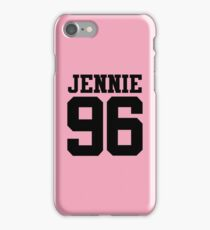 BLACKPINK Jennie 96 (Black) iPhone Case/Skin