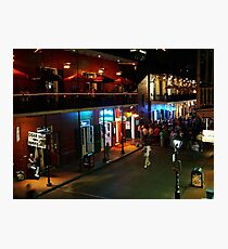 Bourbon Street Photographic Print