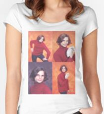 The Iconic Photo Shoot Women's Fitted Scoop T-Shirt