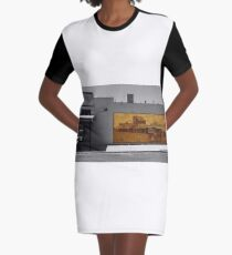 The mural Graphic T-Shirt Dress