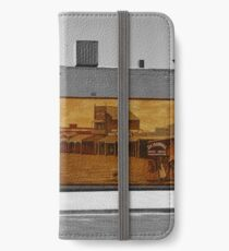 The mural iPhone Wallet/Case/Skin