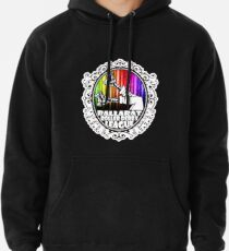 BRDL Rainbow Logo - Clothing, Pillows & Phone Wallet Pullover Hoodie