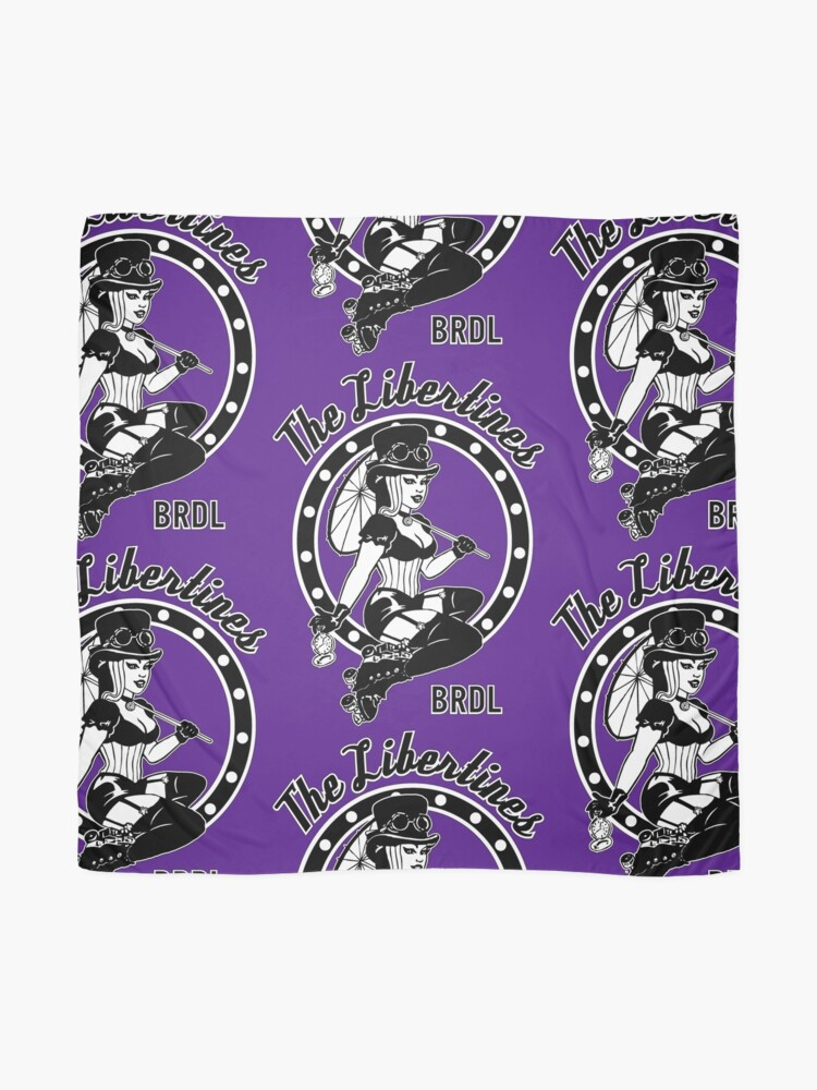 """Alternate view of BRDL """"The Libertines"""" - Clothing, Phone Cases, Scarves & Posters Scarf"""