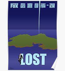 LOST minimialist poster Poster