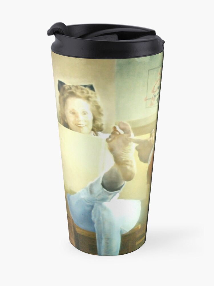 Alternate view of D'Alì mirror Travel Mug