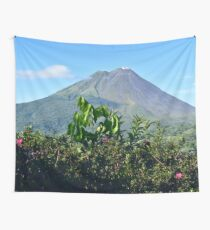 Arenal Volcano Wall Tapestry