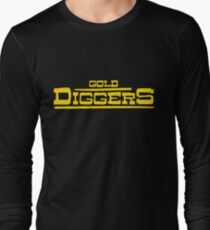 "BRDL ""Gold Diggers"" Logo - T-shirts, Hoodies Leggings & Pillows Long Sleeve T-Shirt"