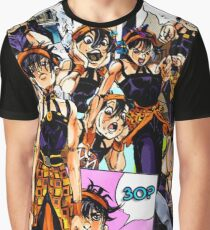 Narancia Collage Graphic T-Shirt