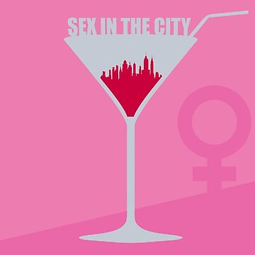 Sex in the City minimalist poster by ultimadesigns
