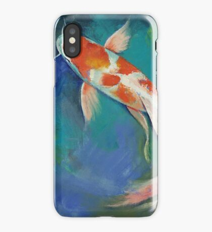Kohaku Butterfly Koi iPhone Case