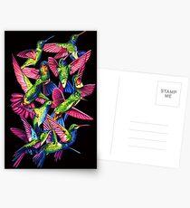 Hummingbird Dance in Sharpie Postcards