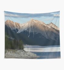 Scenic Mountain Photography Print Wall Tapestry