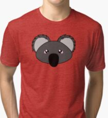 Koala - a cute australian animal Tri-blend T-Shirt