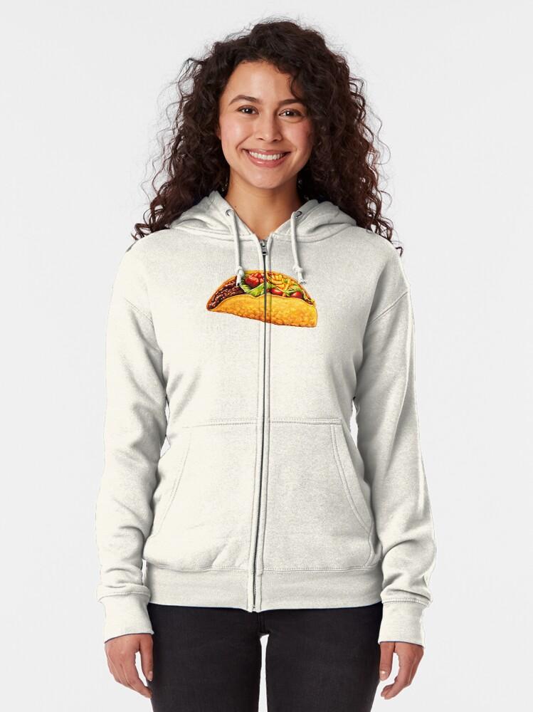 Alternate view of Taco Zipped Hoodie