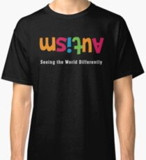 Autism Awareness Seeing the World Differently Classic T-Shirt