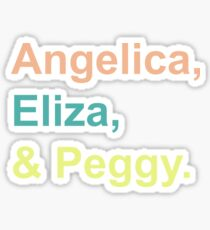 And Peggy - Pastels Sticker