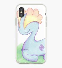 Sleepy Dino iPhone Case