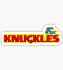 & Knuckles Sticker