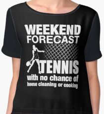 Weekend Forecast Tennis Women's Chiffon Top