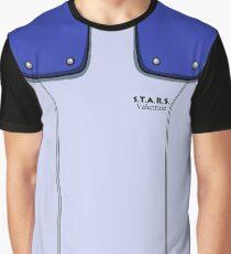 Jill Valentine Uniform Graphic T-Shirt