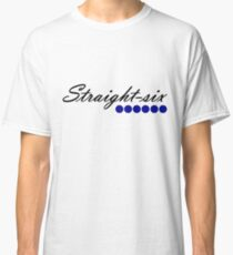 Straight 6 blue Classic T-Shirt