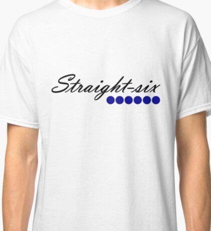 Straight 6 blue Classic T-Shirt