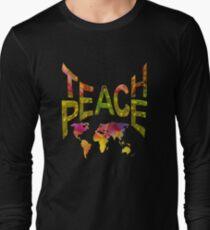 Teach Peace Globally Long Sleeve T-Shirt