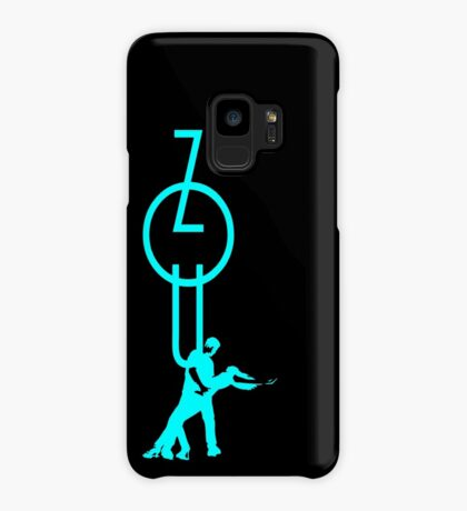 lets dance zouk - blue Case/Skin for Samsung Galaxy