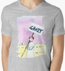 Not Crazy Men's V-Neck T-Shirt