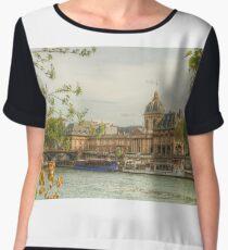 Institut de France by the Seine Chiffon Top