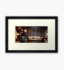 221B Living Room Framed Print