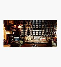 221B Living Room Photographic Print