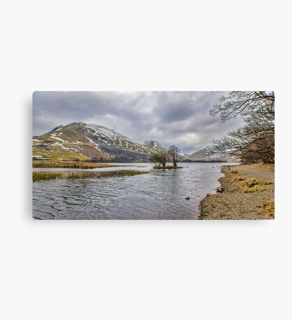 The Shoreline Brothers Water Canvas Print